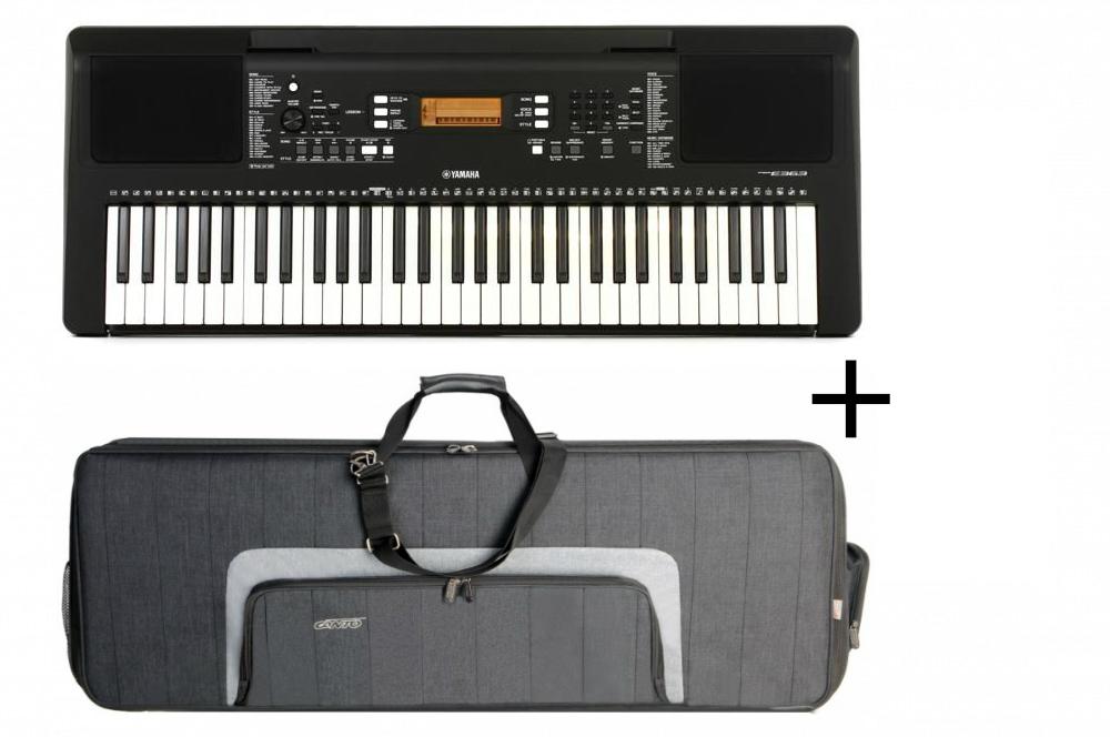 Yamaha Psr E363 Canto Skb1 Keyboard Instrument Klawiszowy Pokrowiec