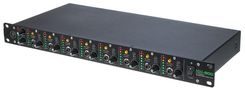 MACKIE HM 800 - Ośmiokanałowy wzmacniacz słuchawkowy