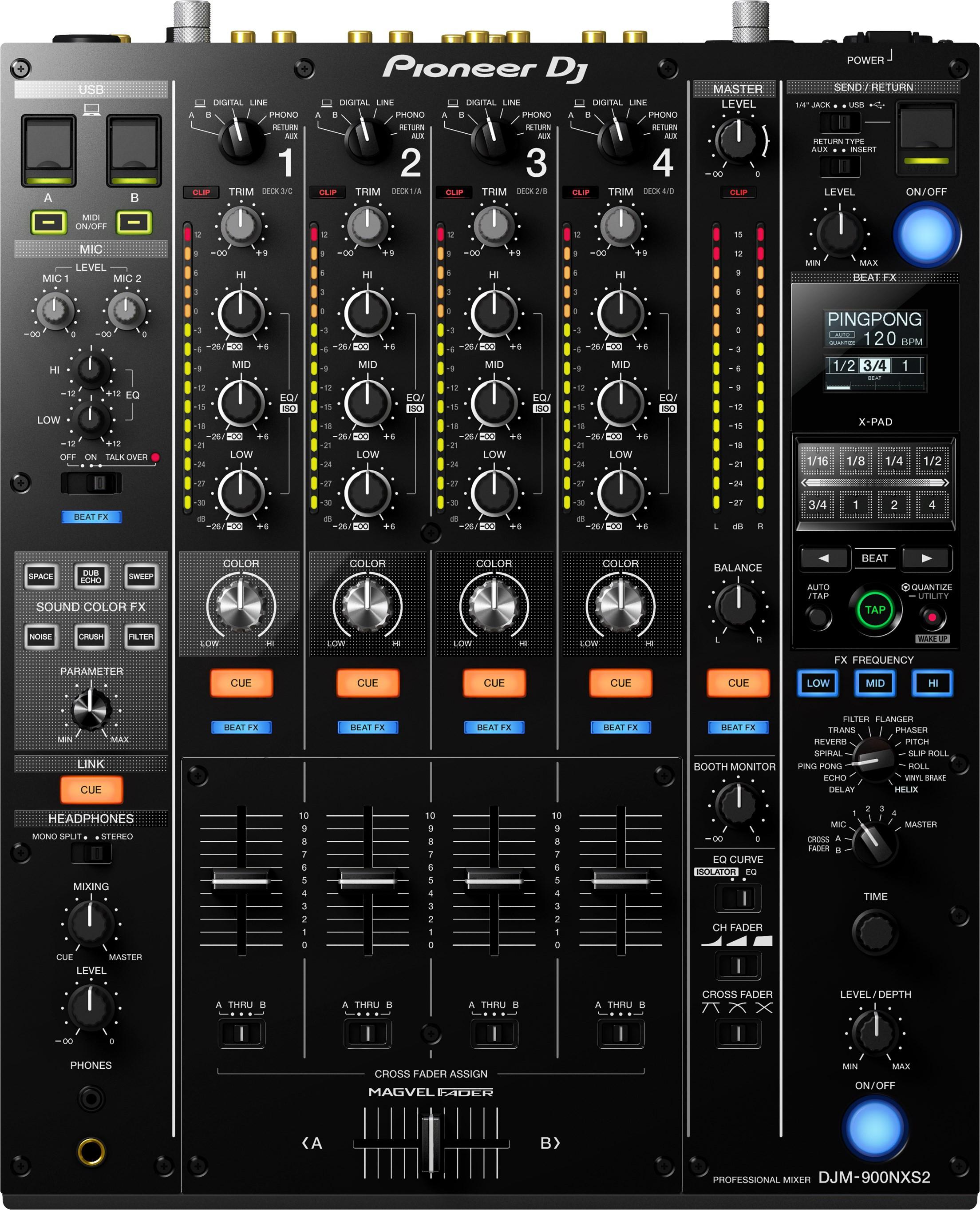 PIONEER DJM-900NXS2 - mikser