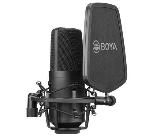 BOYA BY-M800 - studyjny mikrofon XLR