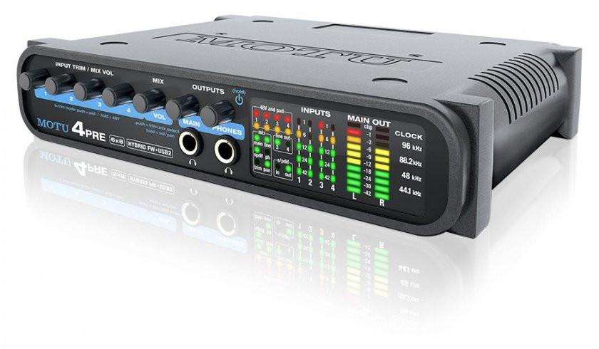 MOTU 4 Pre - interfejs audio