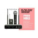Novox FREE HB2 - bezprzewodowy system mikrofonowy