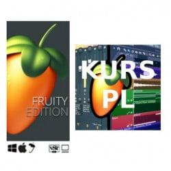 FL Studio 20 Fruity Edition (wersja elektroniczna) + KURS VIDEO ONLINE PL