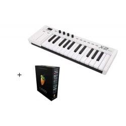 MIDIPLUS- X2 MINI + FL Studio 20 Producer Edition BOX