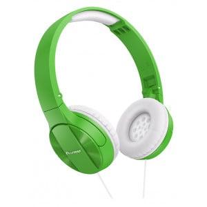 Pioneer SE-MJ503 G - słuchawki dynamiczne (Zielone)