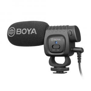 BOYA BY-BM3011 - Mikrofon nakamerowy TRRS/TRS