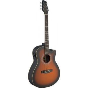 Stagg SA30ACE-BS - gitara akustyczna