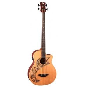 Luna Long Scale Tattoo - gitara basowa elektroakustyczna