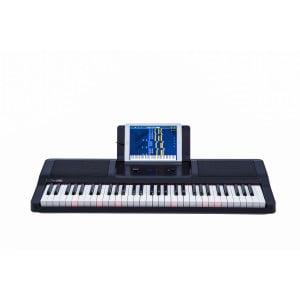 THE ONE- LIGHT KEYBOARD BLACK - Keyboard z aplikacją do nauki gry