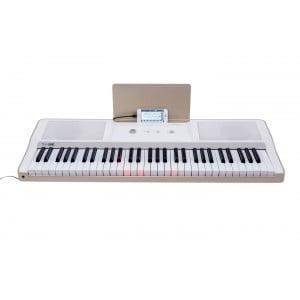THE ONE- LIGHT KEYBOARD WHITE - Keyboard z aplikacją do nauki gry