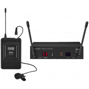 IMG STAGELINE TXS-631SET Zestaw z mikrofonem bezprzewodowym