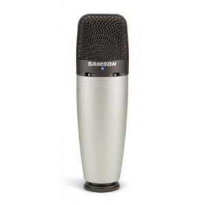 Samson C03 - wielko-membranowy mikrofon pojemnościowy