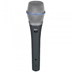 Shure BETA 87C - Mikrofon kardioidalny, pojemnościowy, wokalny