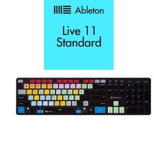 Ableton Live 11 STANDARD + Klawiatura EDITORSKEYS - ABLETON LIVE KEYBOARD MAC/WIN (SLIMLINE)