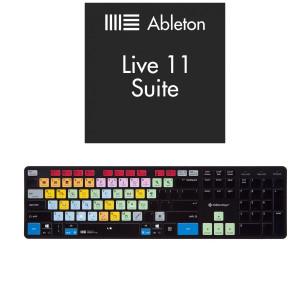 ABLETON LIVE 11 SUITE + KLAWIATURA EDITORSKEYS - ABLETON LIVE KEYBOARD MAC/WIN (SLIMLINE)