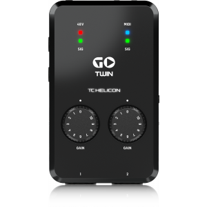 Tc Helicon GO TWIN - interfejs audio