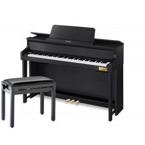 CASIO GP-300 Black - Pianino cyfrowe + Ława Stagg