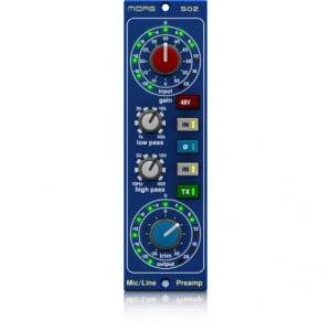 Midas MICROPHONE PREAMPLIFIER 502 - wysokiej klasy przedwzmacniacz mikrofonowo-liniowy