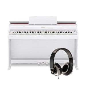 CASIO AP-470 WE + słuchawki