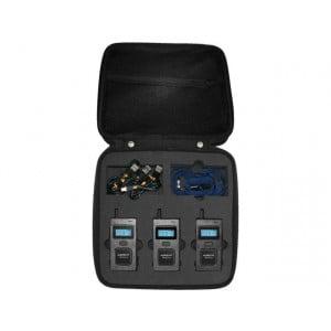 MONACOR MULTICOM-3SET - Zestaw do komunikacji dla 3 sędziów sportowych