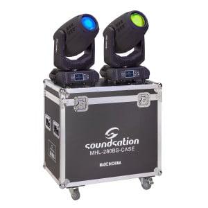 Soundsation MHL-280BS SET - Zestaw 2 ruchome głowy