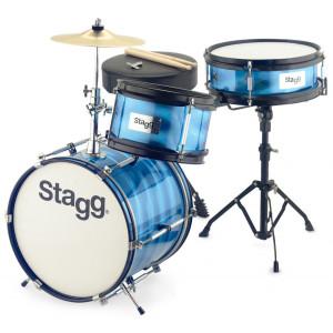 Stagg TIM 122 BL - akustyczny zestaw perkusyjny