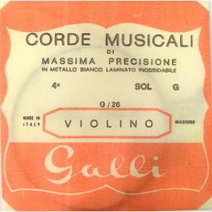 Galli G-026 - Pojedyncza struna do skrzypiec G-4