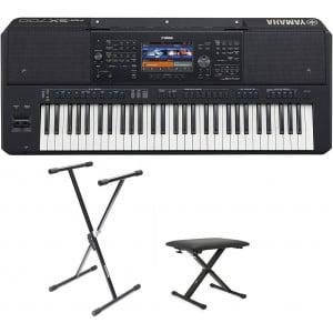 Yamaha PSR-SX700 - keyboard instrument klawiszowy + STATYW + ŁAWA