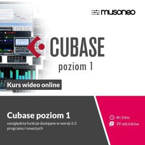 Musoneo - Steinberg Cubase Poziom 1 - Kurs video PL (wersja elektroniczna)