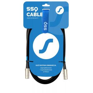 SSQ MIDI1 - kabel MIDI 5 pinowy, 1 metrowy