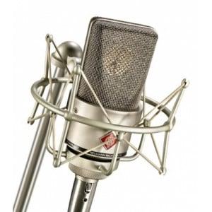 Neumann TLM 103 Studio Set - MIKROFON POJEMNOŚCIOWY WIELKOMEMBRANOWY Z UCHWYTEM EA 1, NIKIEL