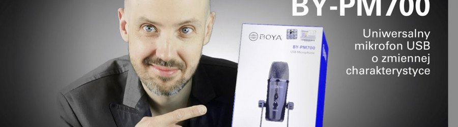 TEST: BOYA BY-PM700- uniwersalny mikrofon USB/USB-C