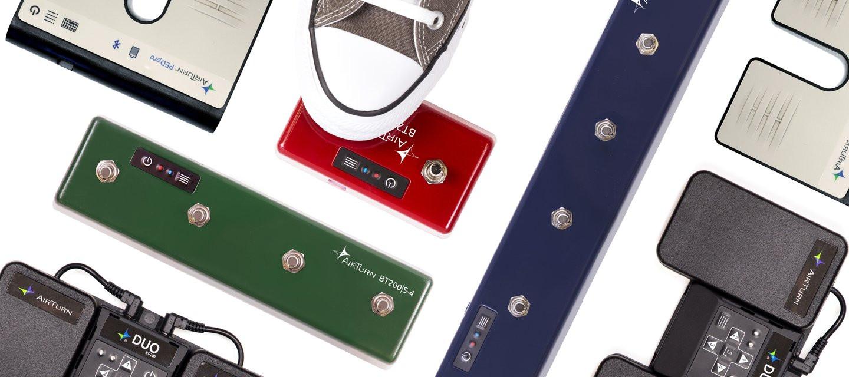 Bezprzewodowe przełączniki dla muzyków od AirTurn