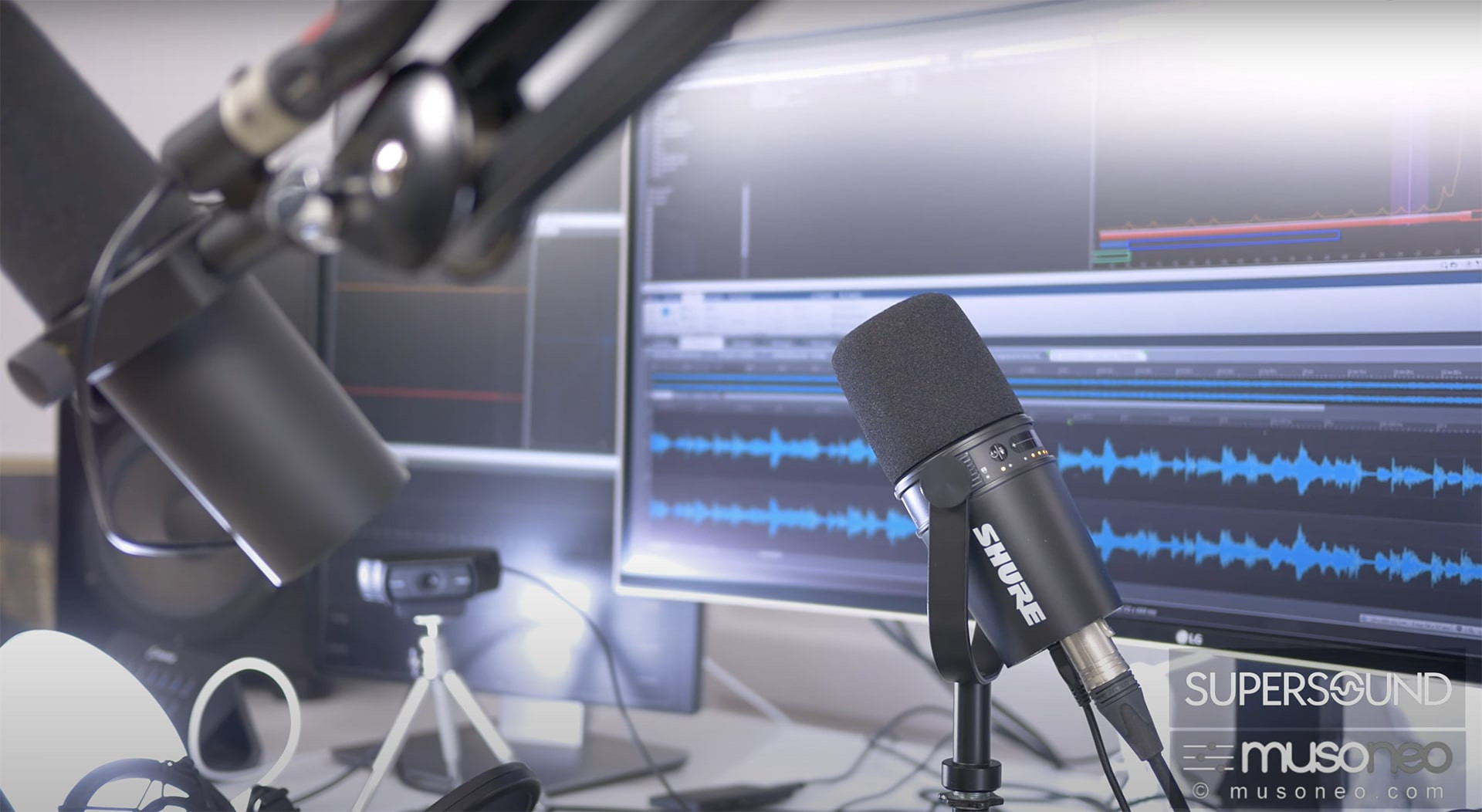 Shure SM7B vs MV7: porównanie mikrofonów