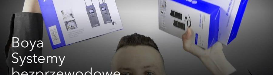 TEST: BOYA BY-WM8 Pro- prezentacja mikrofonowego zestawu bezprzewodowego do kamer