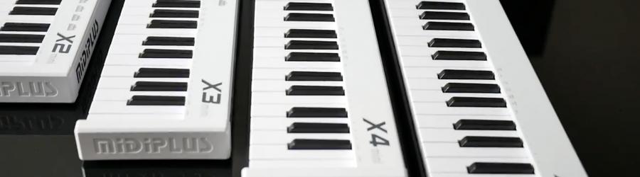 MIDIPLUS X mini - jaką klawiaturę mini midi wybrać?