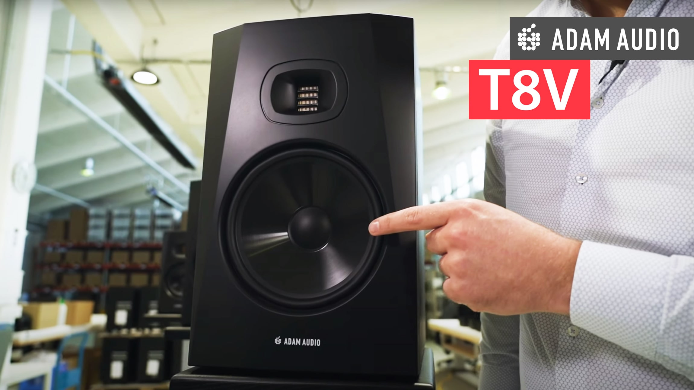 KONKURS: Zagraj o monitory ADAM Audio T8V