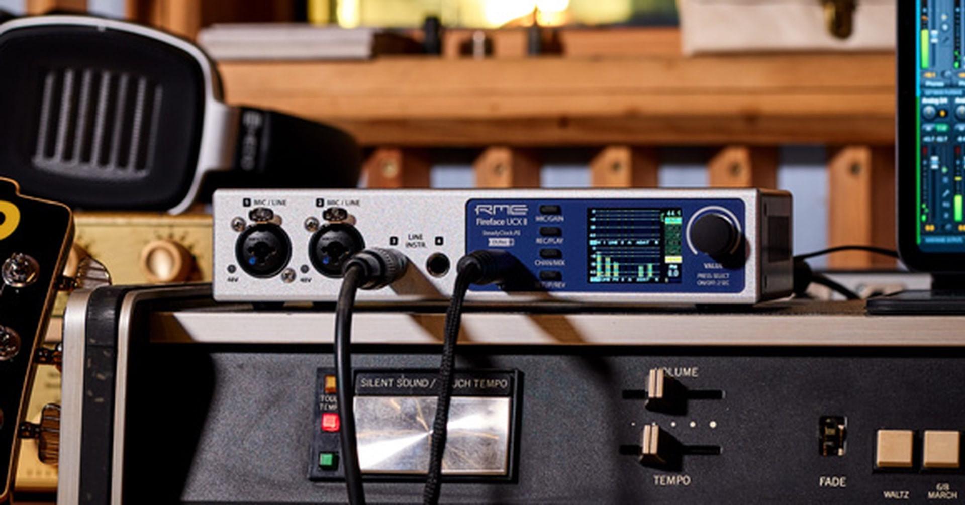 NOWY interfejs audio od RME - Fireface UCX II
