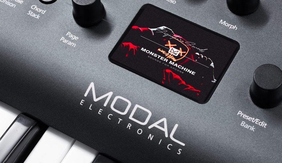 Modal Electronics: POBIERZ BEZPŁATNĄ BIBLIOTEKĘ BRZMIEŃ MONSTER MACHINE