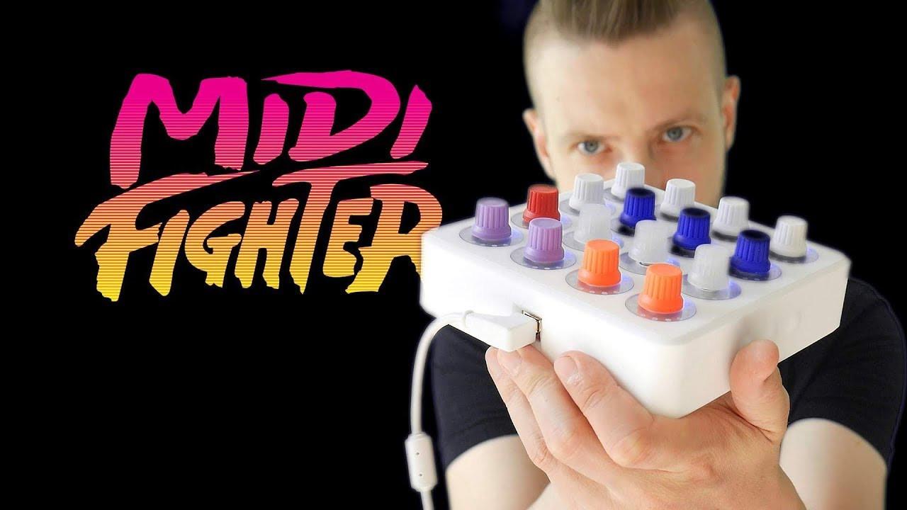 ZOBACZ CO POTRAFI DJ TECHTOOLS MIDI FIGHTER TWISTER