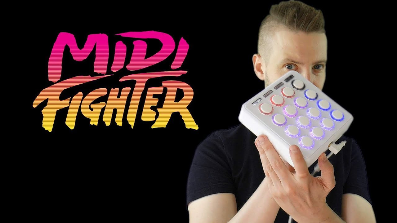 DJ TECHTOOLS MIDI FIGHTER 3D- PREZENTCJA KONTROLERA
