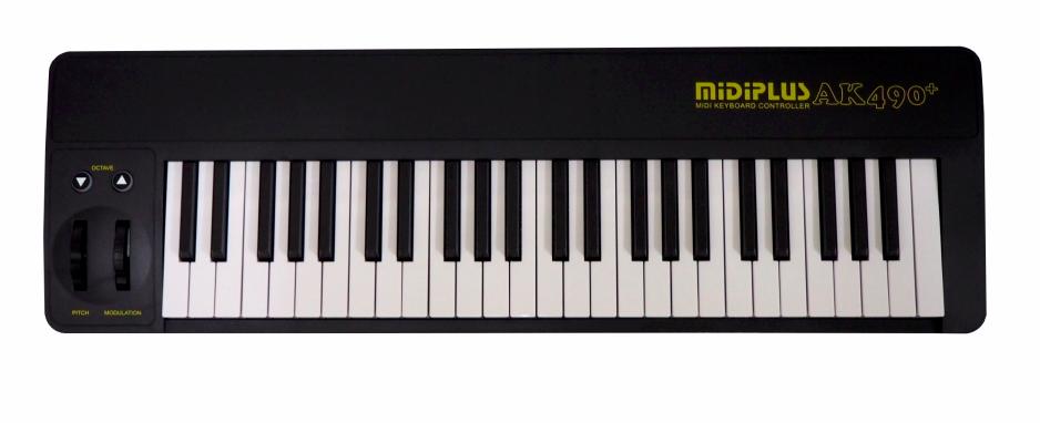 MIDIPLUS AK490- czyli po prostu klawiatury