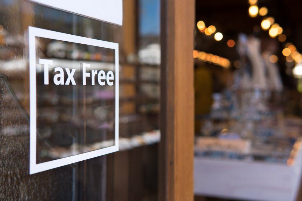 TAX FREE-spep by step