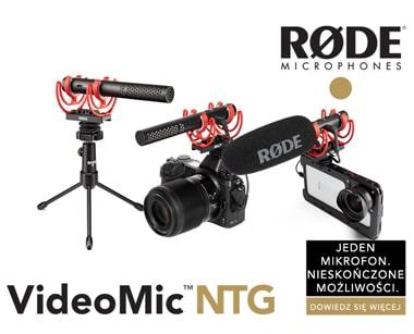 Rode NTG- nowy mikrofon