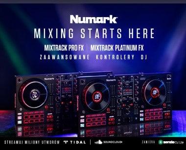 Numer Mixtrack PRo, platinum