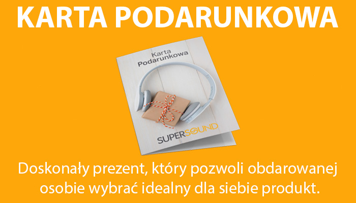 Karta podarunkowa Supersound