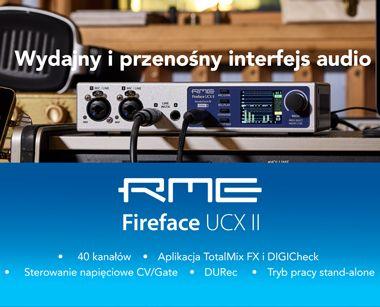 RME FireFace UCX II - interfejs Audio USB