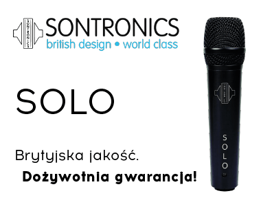 Sontronics- mikrofon studyjny SOLO