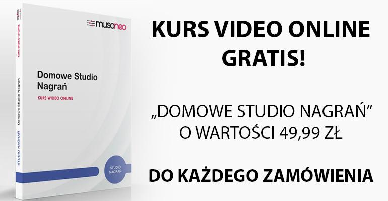 KURS DOMOWE STUDIO NAGRAŃ GRATIS