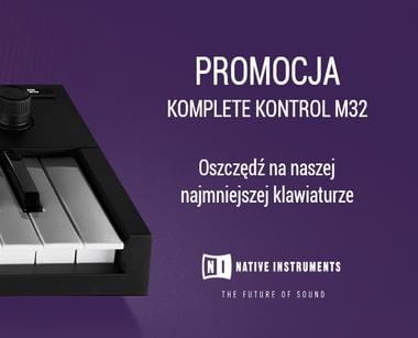 PROMOCJA: NATIVE INSTRUMENTS KOMPLETE KONTROL M32 klawiatura
